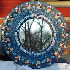 Colorful mirror         #mosaic #art