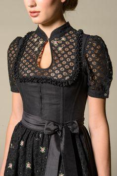 Gössl Online-Shop - Dirndl aus Baumwolle - Dirndl - Frauen Dirndl Dress, Dress Skirt, Dress Up, Folk Fashion, Womens Fashion, Oktoberfest Outfit, German Fashion, Mode Inspiration, All About Fashion