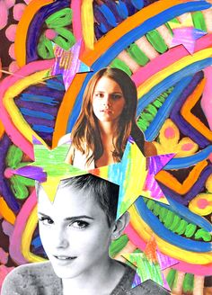 Illustration by me for Rookie Mag, accompanying Tavi's interview with Emma Watson! :D