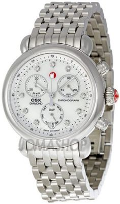 94440280e85 Michele CSX Mother of Pearl Diamond Dial Chronograph Ladies Watch  MWW03M000120  625.00 Diamond Watches For Men