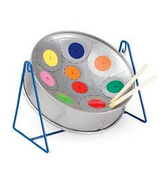 Rainbow Steel Drum Great website filled with creative toys for kids that I'd actually want my kids to play with. -JL