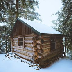 Woke up early, hiked deep into the forest to find this cabin tucked away and hidden from the world. Cooked up oatmeal, brewed coffee and just finally got a chance to relax. This weekend has been so good, exploring the Winter landscape. Excited to share more.
