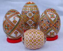 Pysanky eggs from Ukraine