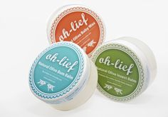 Oh-Lief Natural Body Products Natural Products, Body Products, The Balm, Wax, Packaging, Studio, Nature, Projects, Design