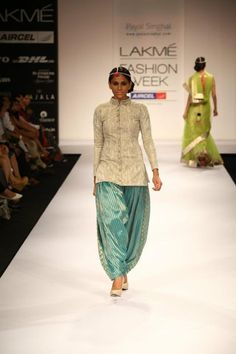 Sherwani top for women.. wow, nice touch