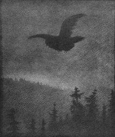 Theodor Severin Kittelsen, The Plague is Coming (Pesta Kommer)