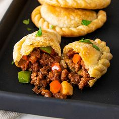 Beyond Beef Empanada - Beyond Meat - The Future of Protein™ Veg Recipes, Ground Beef Recipes, Plant Based Recipes, Vegetarian Recipes, Healthy Recipes, Vegan Recepies, Vegetarian Mexican, Healthy Eats, Beyond Beef Recipes
