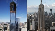 World Trade Center tower surpasses Empire State