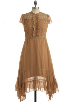 Let's dream up a village where meetings are tea parties and pastries for every meal - and this is what I'll wear!  Love it!