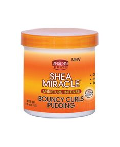 African Pride Shea Butter- Bouncy Curls Pudding Two Strand Twists, Hair Lotion, Curl Curl, Braid Out, Bouncy Curls, Leave In Conditioner, Beauty Supply, Shea Butter, Creme