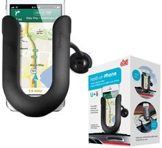 DCI HoldUrPhone Mobile Device Holder  Retail Packaging  Black *** Click on the image for additional details.