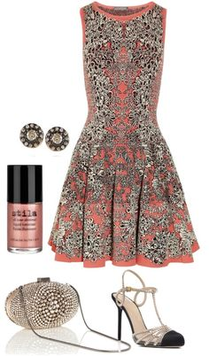 """barnacle dress"" by glowmonkey on Polyvore"