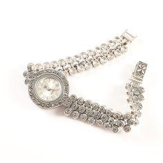 Ceas Dama din argint masiv Lila by SaraTremo