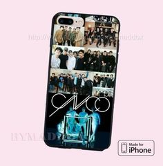 New-Rare-CNCO-Collage-Print-On-Hard-Plastic-CASE-COVER-for-iPhone-6s-6s-7-7
