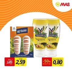 ¿Te apetece una ensalada de verano, bien fresca? Aquí tienes dos ingredientes básicos: colas del océano y mayonesa Ybarra.