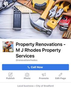 Follow us on Instagram & Facebook and why not give us a like and share help a local business out.  We are a collection of experienced and qualified professionals ready to undertake all of your renovations/maintenance work. . . #bradford #leeds #manchester #liverpool #shipley #bingley #huddersfield #wyke #oldham #greatermanchester #cheshire #stockport #builder #plasterer #bathroomfitter #kitchenfitter #decorator #roofer #landscaper