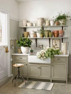 Country Living laundry/mudroom