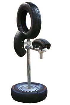 タイヤ打込台 小手・胴打ちセット (高さ120CM)