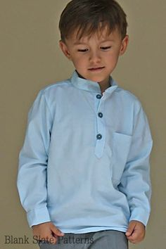 Prepster Pullover pdf sewing pattern by Blank Slate Patterns