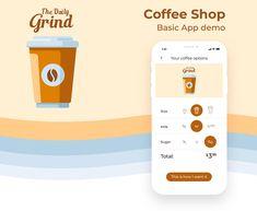 coffee app design - Google Search App Design, Coffee Shop, Snacks, Google Search, Logos, Coffee Shops, Coffeehouse, Appetizers, Logo