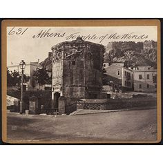 Photograph - Athens Temple of the Wind 1850s to 1870s (photographed) Artist/Maker:Francis Frith, born 1822 - died 1898