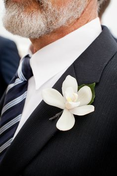 men's attire, I just like the simple orchid, and this would be my dad, except maybe he'd shave his beard just for the wedding.