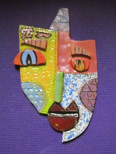Kimmy Cantrell Inspired Masks. Check out Kimmy's webpage here. Outstanding pieces. http://www.kimart.com/sculpture.htm ...