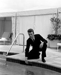 David Bowie, 1993 by Michel Haddi.