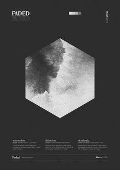 b/w poster design