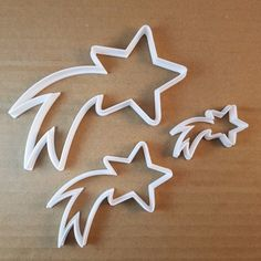 Shooting Star Firework Shape Cookie Cutter Dough Biscuit Pastry Fondant Sharp Stencil by CutterCraftUK on Etsy Halloween Cookie Cutters, Cake Cutters, Fancy Cookies, Shaped Cookie, Shooting Stars, Star Shape, Stars And Moon, Cookie Decorating, Fireworks
