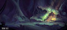 ArtStation - Dream Tales - Forest, Roberto Gatto