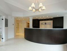 Real Estate Office Reception Area, Toronto ~ Design By BedfordBrooks Design Inc.