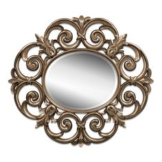 Beatty Mirror - Bronze | American Signature Furniture