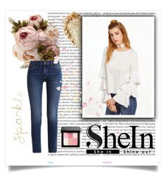 """Shein"" by todaysxoutfit ❤ liked on Polyvore featuring Oris, Calvin Klein and Bobbi Brown Cosmetics"