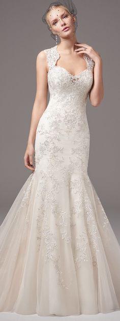 Sottero and Midgley Wedding Dress   @maggiesottero #sotteroandmidgley #midgleybride