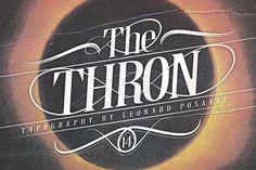 Thron Font from FontBundles.net