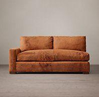 Maxwell Leather Left-Arm Sofa