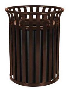 49 Best Metal Trash Cans Images Outdoor Trash Cans Indoor Outdoor