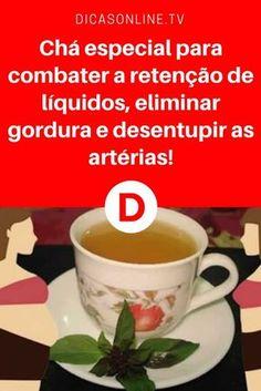Cha detox emagrecer | Chá especial para combater a retenção de líquidos, eliminar gordura e desentupir as artérias! | Chá maravilhoso, com muitos poderes. Aprenda a receita ↓ ↓ ↓