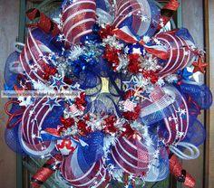 Firecracker Stars Patriotic Memorial Day 4th of July by myfriendbo