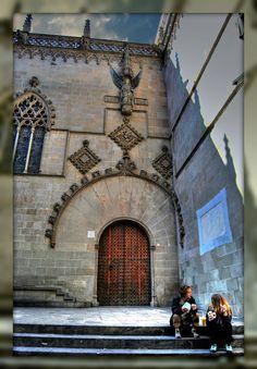 Entrada Saló de Cent, Ajuntament de Barcelona  Catalonia