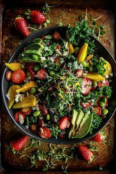 Detox Power Foods Salad from HeatherChristo.com