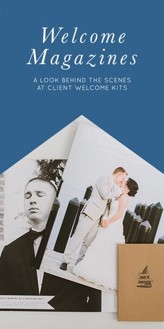 Welcome Magazines and Packages for Wedding Photographers and Planners | Natalie Franke Photography