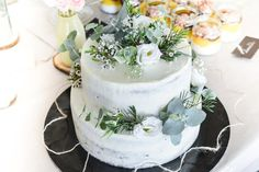 Every celebration ends with something sweet, a cake, and people remember. It's all about the memories. Fancy Wedding Cakes, Wedding Cakes With Flowers, Beautiful Wedding Cakes, Gorgeous Cakes, Wedding Cake Designs, Wedding Cupcakes, Wedding Cake Toppers, Flower Cakes, Cake Wedding