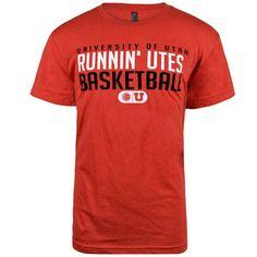 Runnin Utes T-shirt. Get yours from The RedZone today and show our Runnin Utes your Utah pride! #collegebasketball #utahutes #runninutes