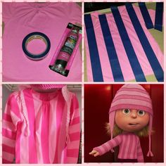 DIY Edith Gru shirt/ Halloween costume  sc 1 st  Pinterest & Edith Gru | Pinterest | Cartoon disney Pixar and Dreamworks