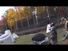 Burying Paint at Battle Creek Outdoors Syphorus Speedball