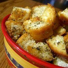Yummy Garlic Croutons Allrecipes.com