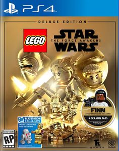 LEGO Star Wars Force Awakens Deluxe Edition PlayStation 4 >>> You can find more details by visiting the image link. Nintendo 3ds, Nintendo Switch, Latest Video Games, Video Games Xbox, Ps4 Video, Xbox 360 Games, Lego Star Wars, Console Xbox One, Figurine Lego