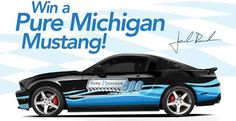 One lucky fan will be driving home from the Pure Michigan 400 at MIS in a custom-made ROUSH 2012 Stage 1 Mustang.